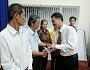 Trường TC Đại Việt Tp.HCM tặng quà Tết cho hộ nghèo, khó khăn tại P. Linh Trung, Q. Thủ Đức, Tp. HCM