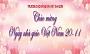 Thư chúc mừng của Bộ trưởng Bộ Giáo dục và Đào tạo nhân ngày Nhà giáo Việt Nam 20/11