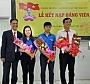 Chi bộ Trường Cao đẳng Đại Việt Sài Gòn kết nạp đảng viên mới