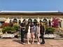 Sinh viên ngành Dịch vụ Du lịch – Lữ hành  thực tập Tour Miền Tây