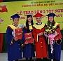Trường CĐ Đại Việt Sài Gòn long trọng tổ chức lễ trao bằng tốt nghiệp