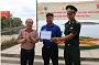 Phó chủ tịch UBND tỉnh Phú Yên thăm hỏi động viên và khánh thành công trình thanh niên của chiến sĩ Mùa hè xanh Đại Việt 2019